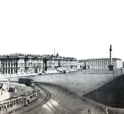 фото старого петербурга - дворцовая площадь
