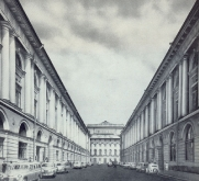 фото старого петербурга - улица Росси