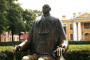 памятник петру шемякина